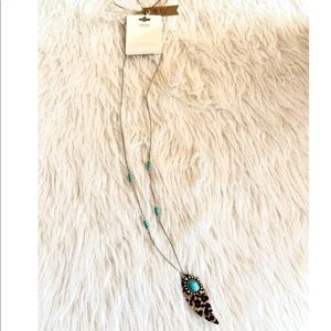 Long Cheetah Necklace